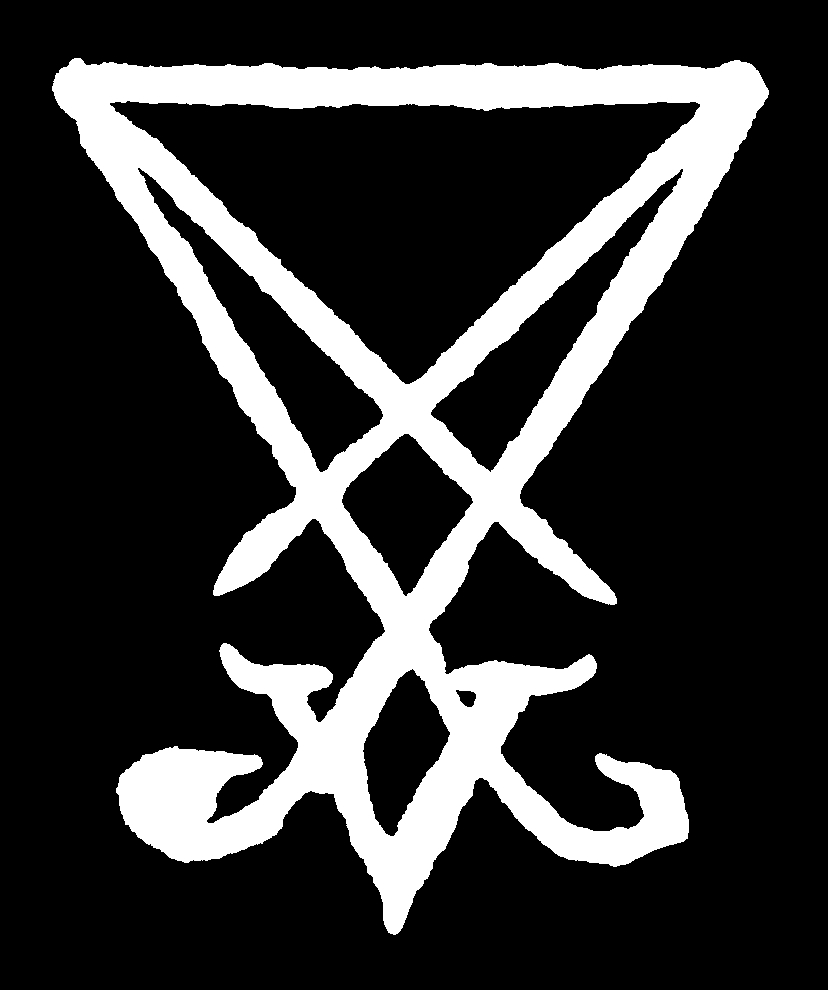 Sigil Of Lucifer Die Cut Sticker